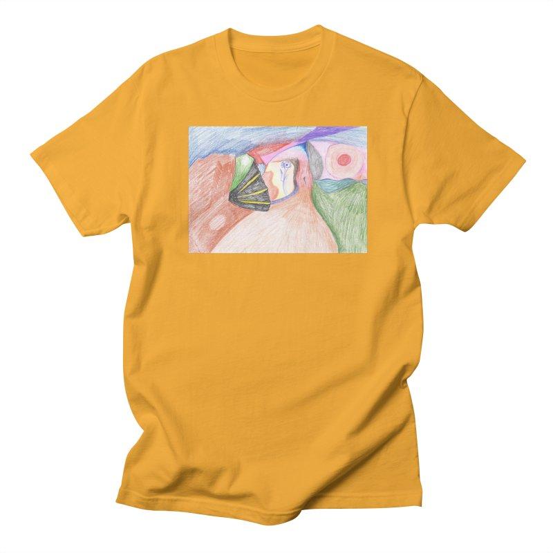 Naked Sunset Men's Regular T-Shirt by nagybarnabas's Artist Shop
