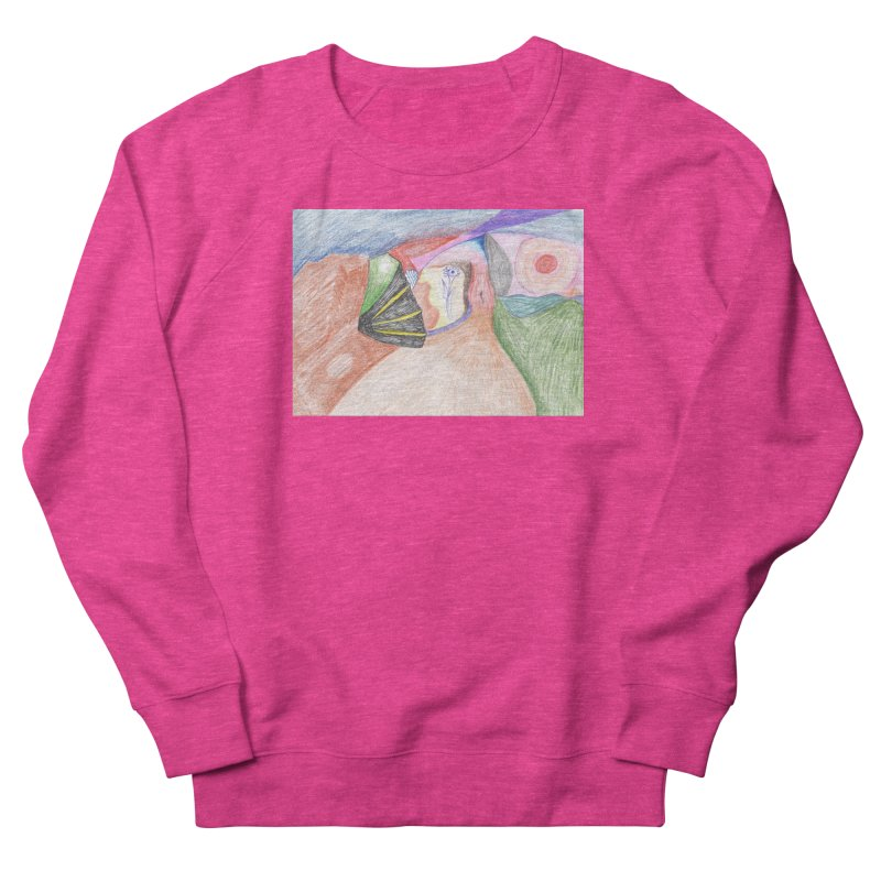Naked Sunset Women's French Terry Sweatshirt by nagybarnabas's Artist Shop