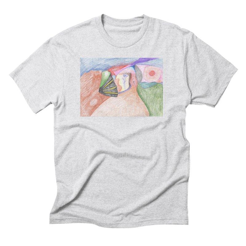 Naked Sunset Men's Triblend T-Shirt by nagybarnabas's Artist Shop