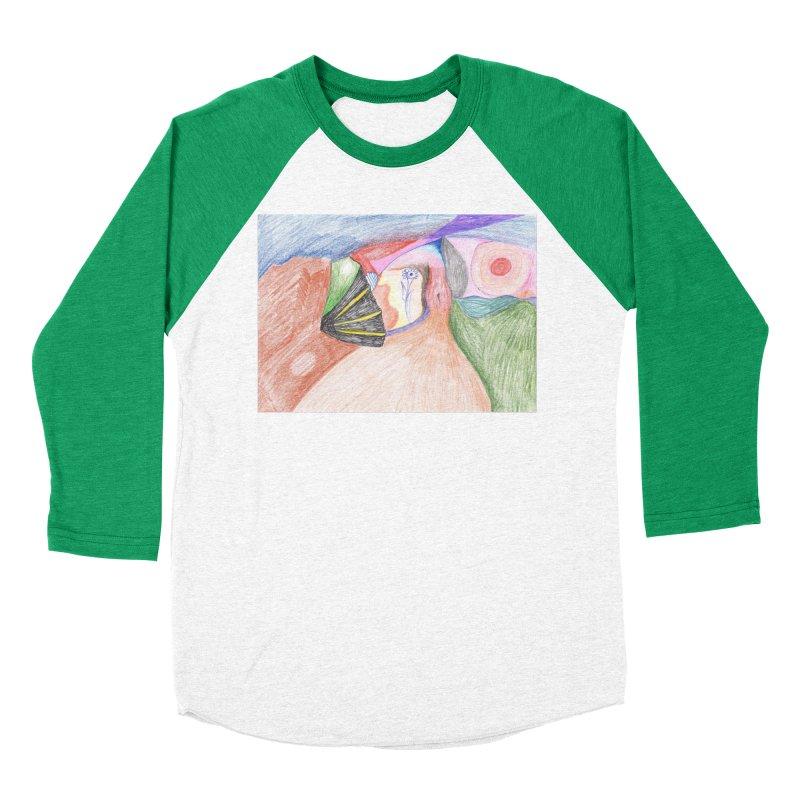 Naked Sunset Women's Baseball Triblend Longsleeve T-Shirt by nagybarnabas's Artist Shop