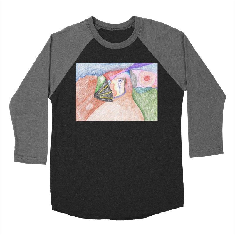 Naked Sunset Men's Baseball Triblend Longsleeve T-Shirt by nagybarnabas's Artist Shop