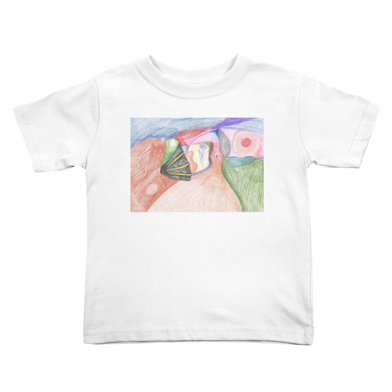 Naked Sunset Kids Toddler T-Shirt by nagybarnabas's Artist Shop