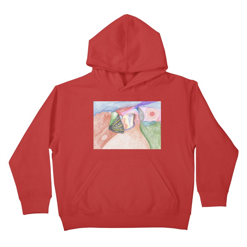Naked Sunset Kids Pullover Hoody by nagybarnabas's Artist Shop