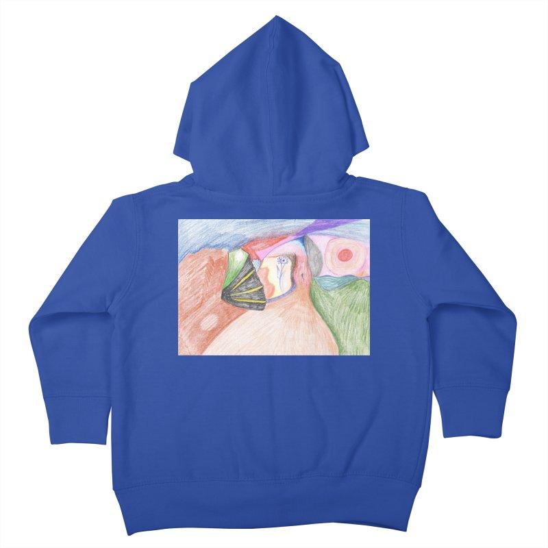 Naked Sunset Kids Toddler Zip-Up Hoody by nagybarnabas's Artist Shop