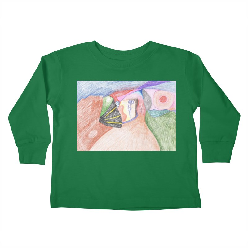Naked Sunset Kids Toddler Longsleeve T-Shirt by nagybarnabas's Artist Shop
