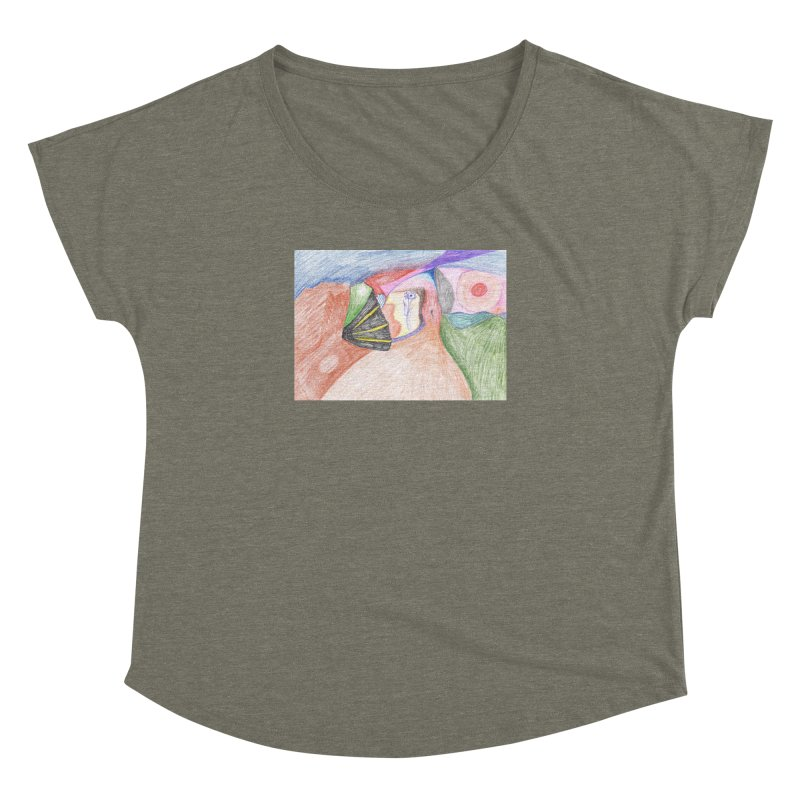 Naked Sunset Women's Dolman Scoop Neck by nagybarnabas's Artist Shop