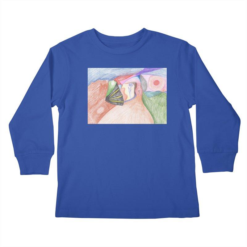 Naked Sunset Kids Longsleeve T-Shirt by nagybarnabas's Artist Shop