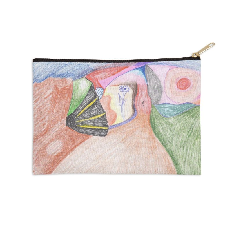 Naked Sunset Accessories Zip Pouch by nagybarnabas's Artist Shop