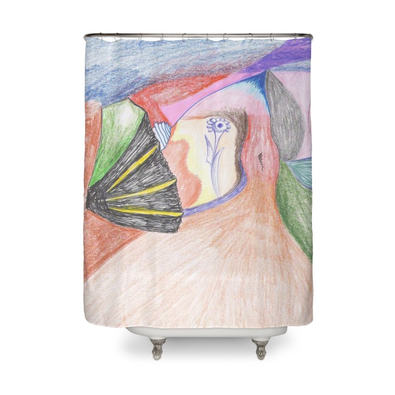 Naked Sunset Home Shower Curtain by nagybarnabas's Artist Shop