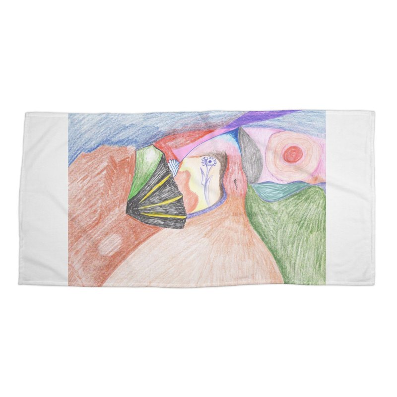 Naked Sunset Accessories Beach Towel by nagybarnabas's Artist Shop