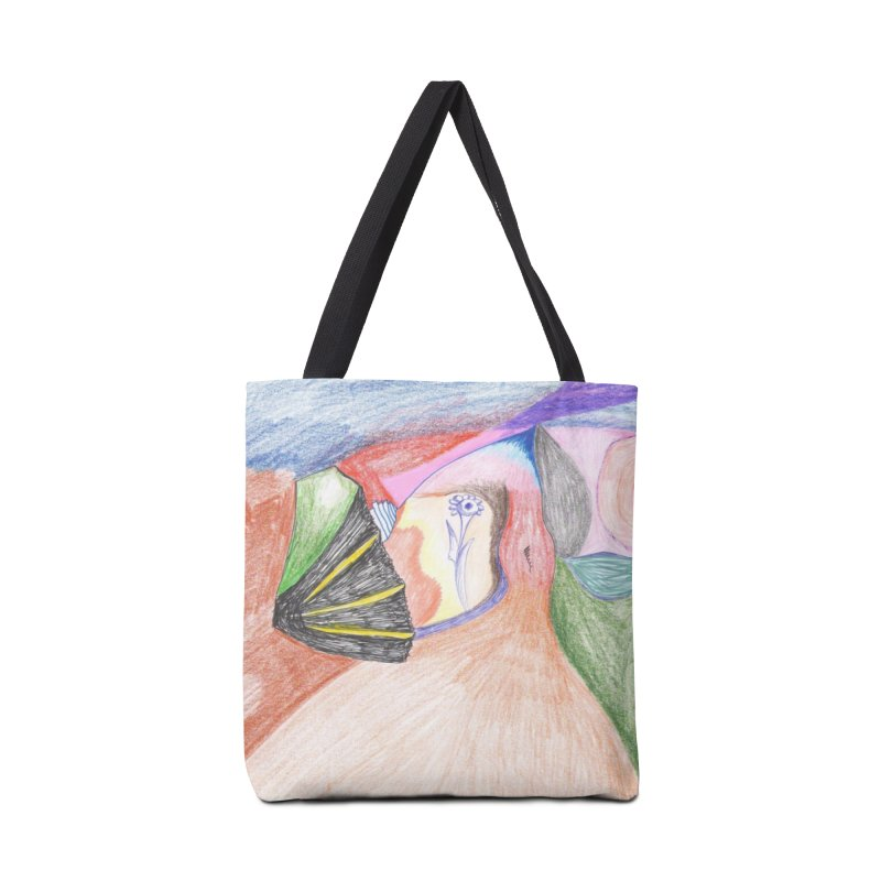 Naked Sunset Accessories Bag by nagybarnabas's Artist Shop