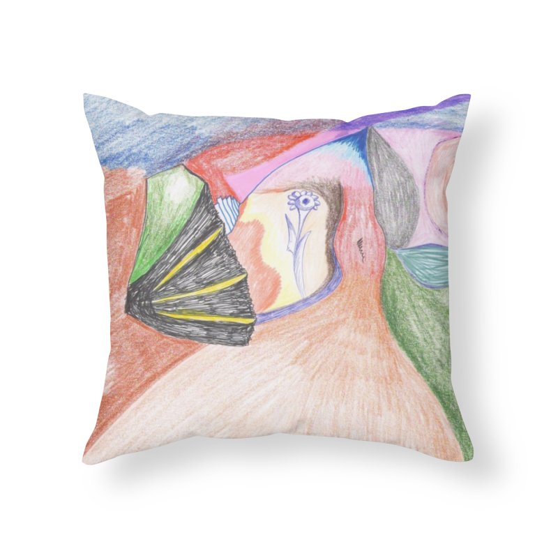 Naked Sunset Home Throw Pillow by nagybarnabas's Artist Shop