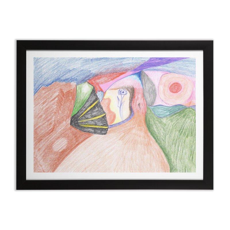 Naked Sunset Home Framed Fine Art Print by nagybarnabas's Artist Shop