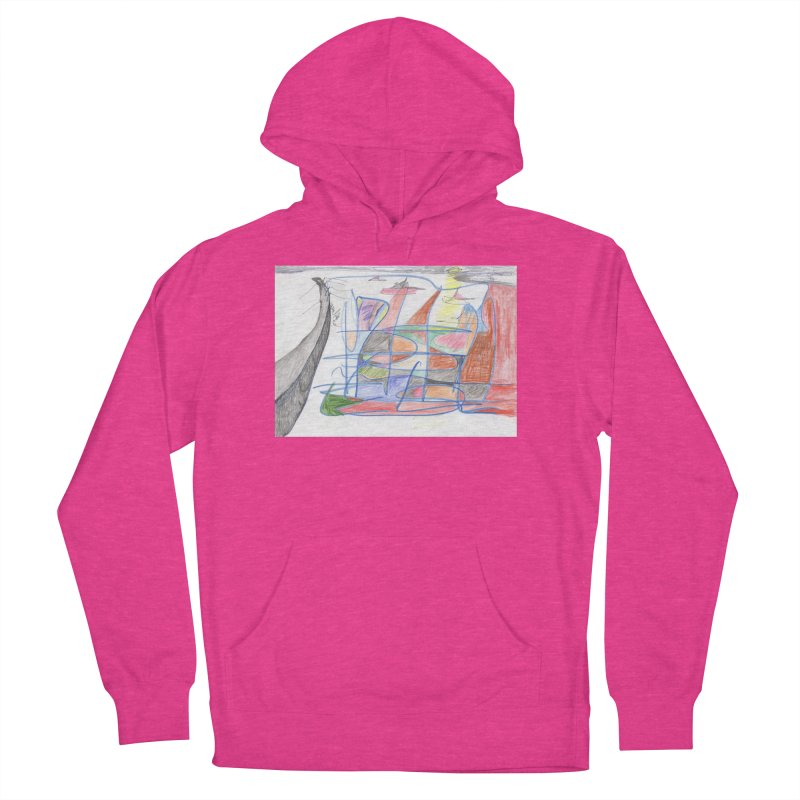 Fishing For Life Men's French Terry Pullover Hoody by nagybarnabas's Artist Shop