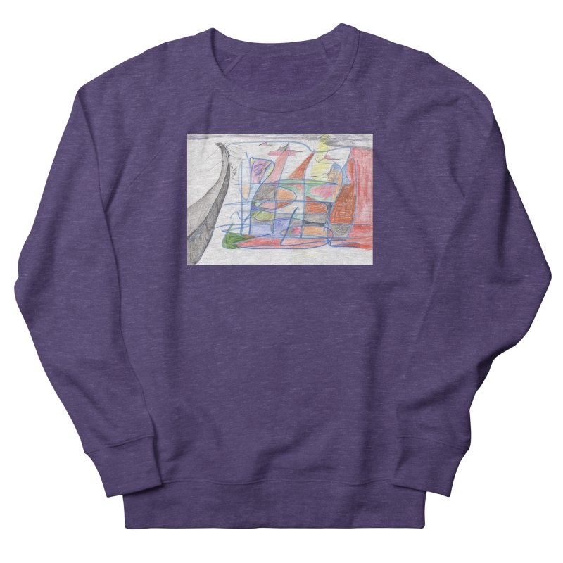 Fishing For Life Women's French Terry Sweatshirt by nagybarnabas's Artist Shop
