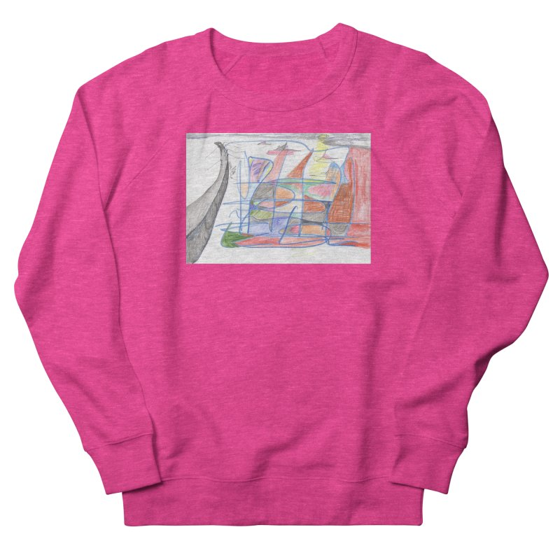 Fishing For Life Men's French Terry Sweatshirt by nagybarnabas's Artist Shop