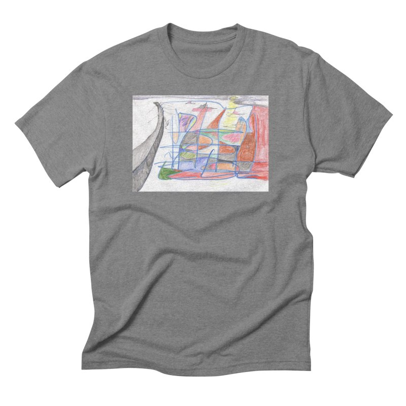 Fishing For Life Men's Triblend T-Shirt by nagybarnabas's Artist Shop