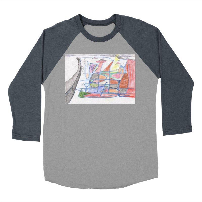 Fishing For Life Women's Baseball Triblend Longsleeve T-Shirt by nagybarnabas's Artist Shop