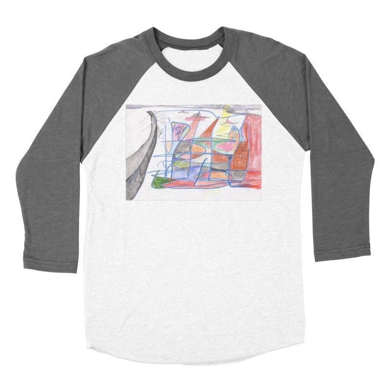 Fishing For Life Men's Baseball Triblend Longsleeve T-Shirt by nagybarnabas's Artist Shop