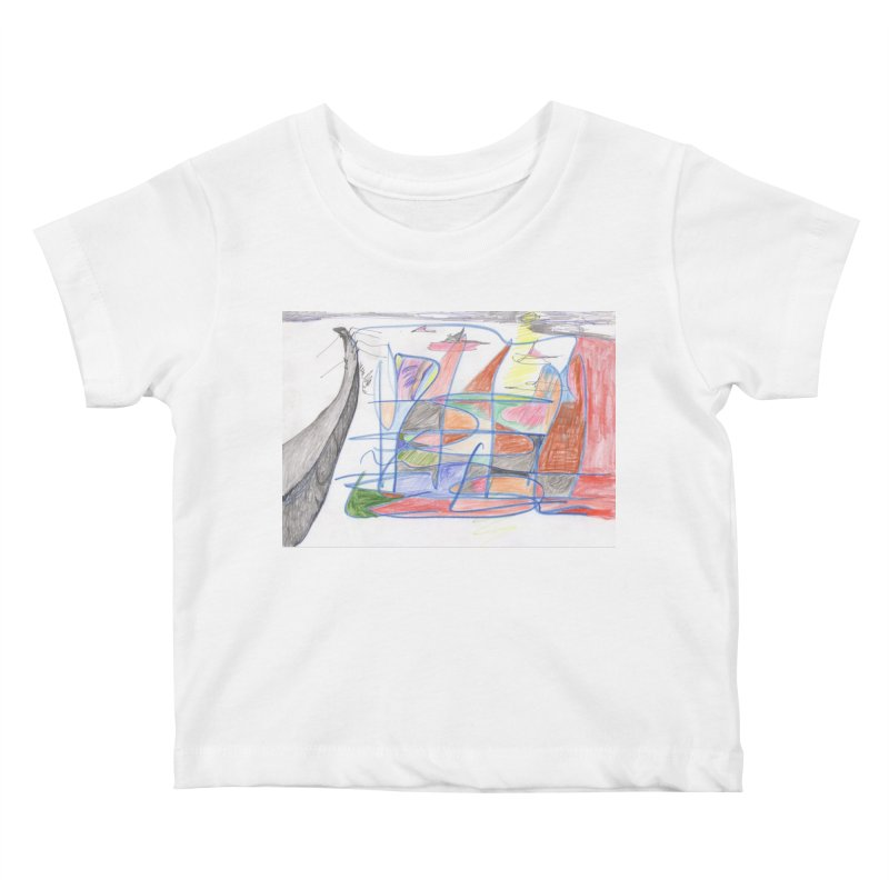 Fishing For Life Kids Baby T-Shirt by nagybarnabas's Artist Shop
