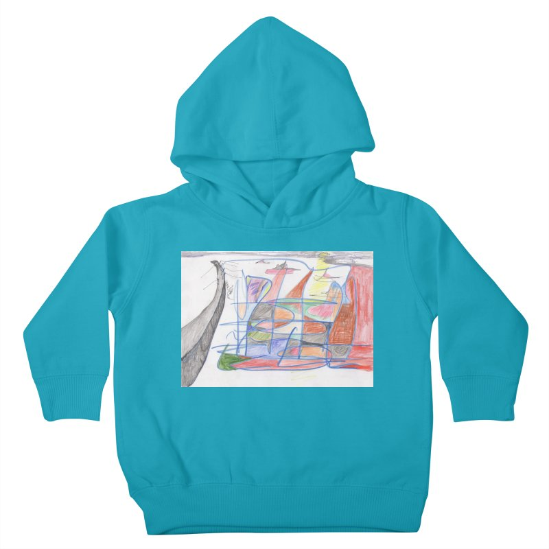 Fishing For Life Kids Toddler Pullover Hoody by nagybarnabas's Artist Shop