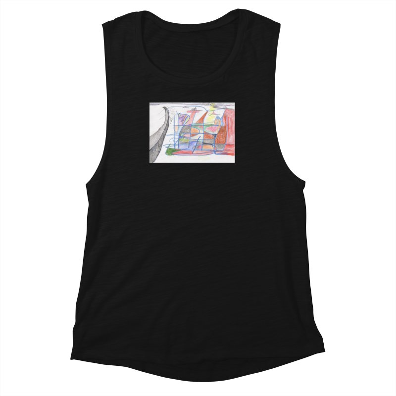 Fishing For Life Women's Muscle Tank by nagybarnabas's Artist Shop