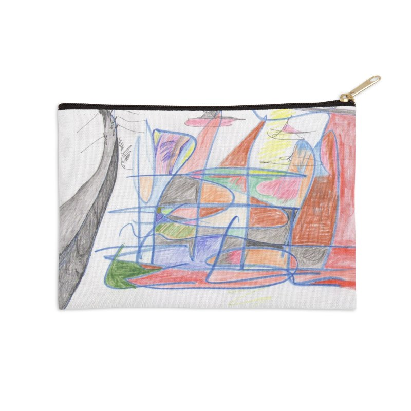 Fishing For Life Accessories Zip Pouch by nagybarnabas's Artist Shop