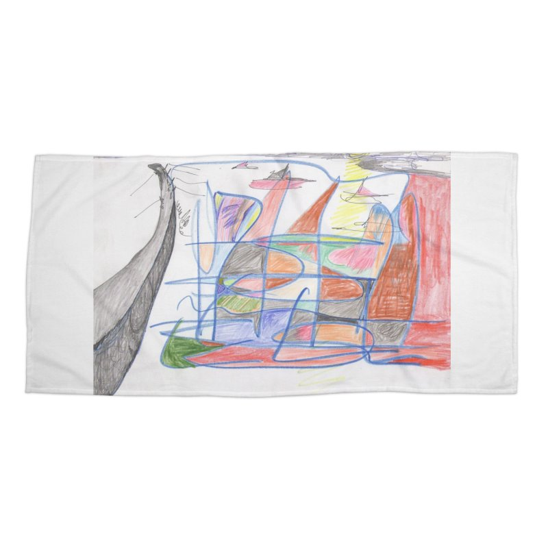 Fishing For Life Accessories Beach Towel by nagybarnabas's Artist Shop