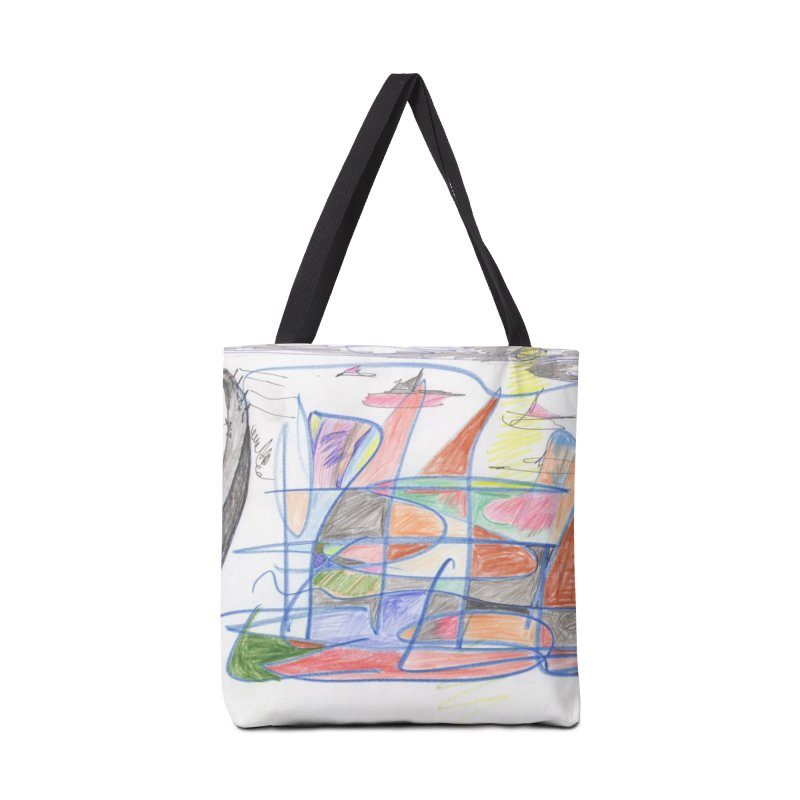 Fishing For Life Accessories Bag by nagybarnabas's Artist Shop