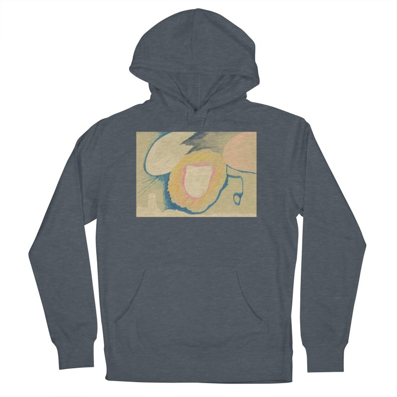 Down The Drain Men's French Terry Pullover Hoody by nagybarnabas's Artist Shop