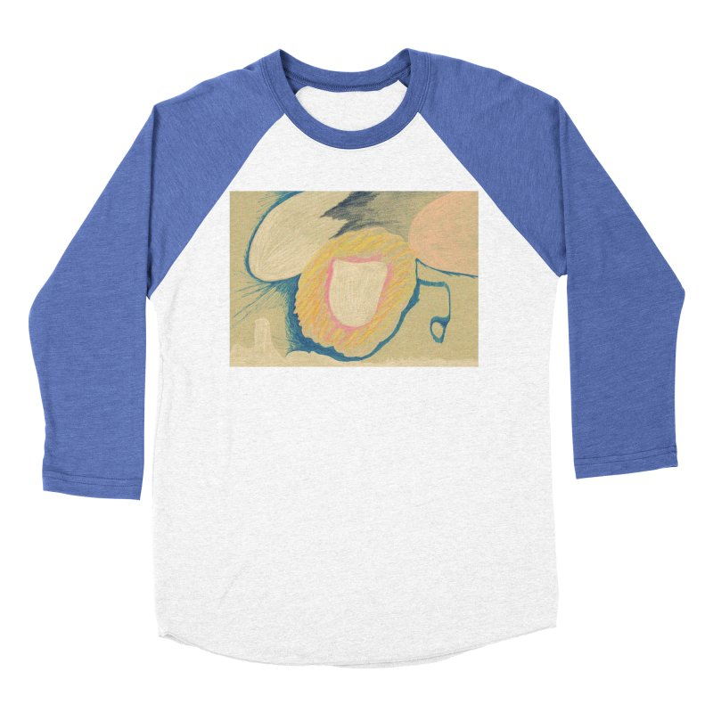 Down The Drain Women's Baseball Triblend Longsleeve T-Shirt by nagybarnabas's Artist Shop