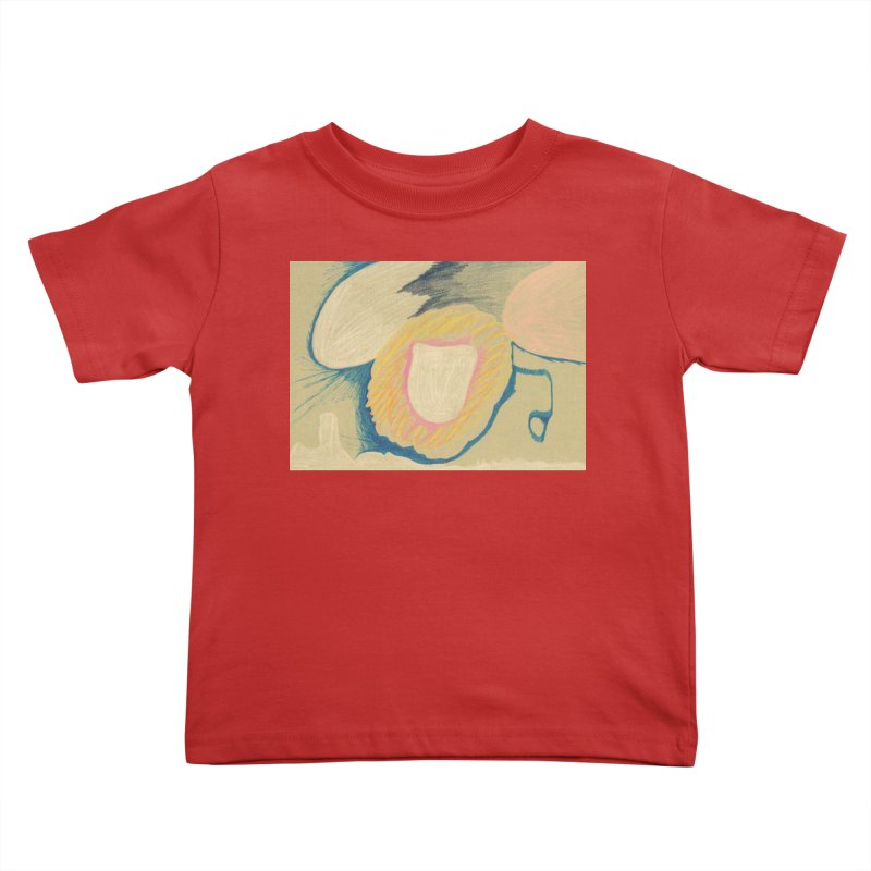 Down The Drain Kids Toddler T-Shirt by nagybarnabas's Artist Shop