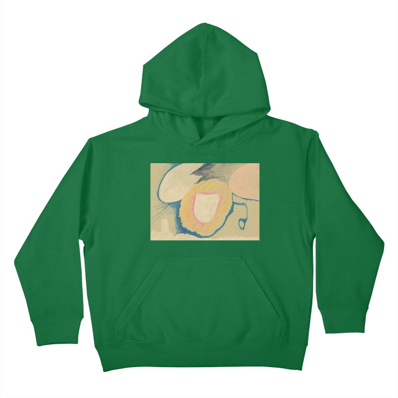 Down The Drain Kids Pullover Hoody by nagybarnabas's Artist Shop