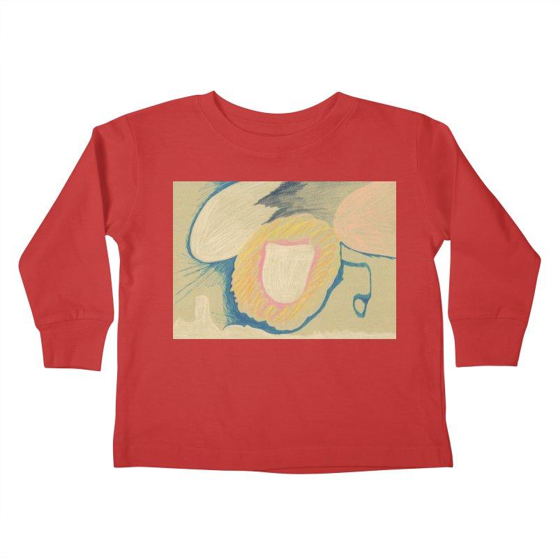 Down The Drain Kids Toddler Longsleeve T-Shirt by nagybarnabas's Artist Shop