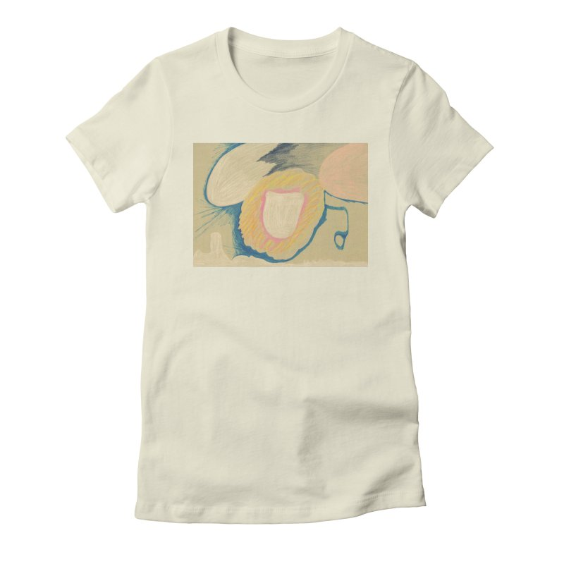 Down The Drain Women's Fitted T-Shirt by nagybarnabas's Artist Shop
