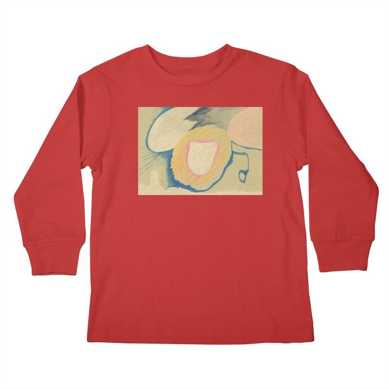 Down The Drain Kids Longsleeve T-Shirt by nagybarnabas's Artist Shop