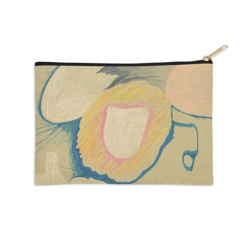 Down The Drain Accessories Zip Pouch by nagybarnabas's Artist Shop