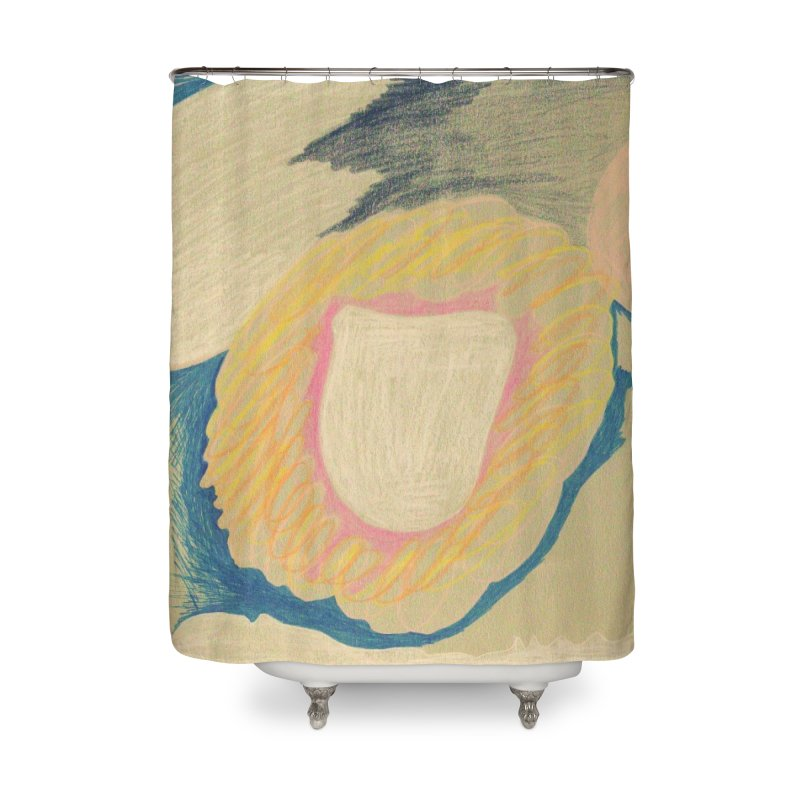 Down The Drain Home Shower Curtain by nagybarnabas's Artist Shop