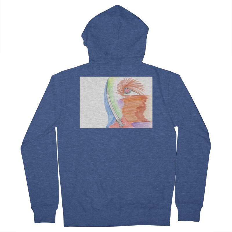 A Sword Is A Must Women's French Terry Zip-Up Hoody by nagybarnabas's Artist Shop