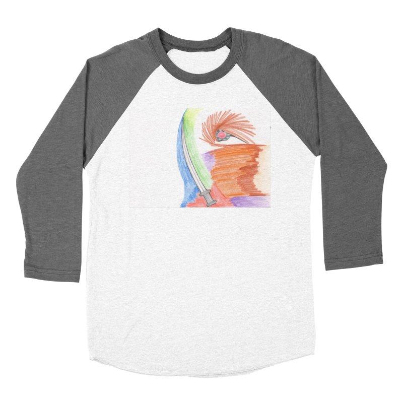 A Sword Is A Must Men's Baseball Triblend Longsleeve T-Shirt by nagybarnabas's Artist Shop