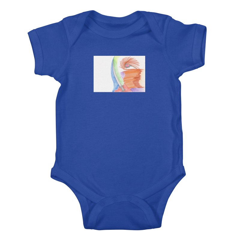 A Sword Is A Must Kids Baby Bodysuit by nagybarnabas's Artist Shop