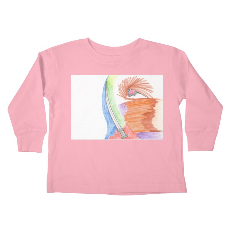 A Sword Is A Must Kids Toddler Longsleeve T-Shirt by nagybarnabas's Artist Shop
