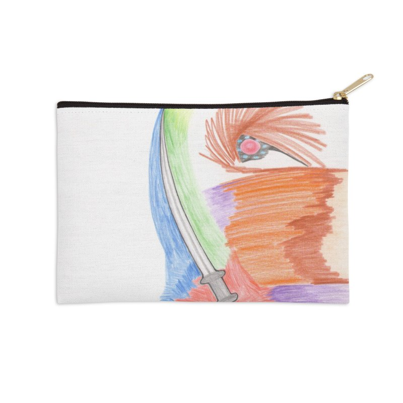 A Sword Is A Must Accessories Zip Pouch by nagybarnabas's Artist Shop