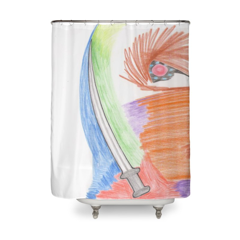A Sword Is A Must Home Shower Curtain by nagybarnabas's Artist Shop