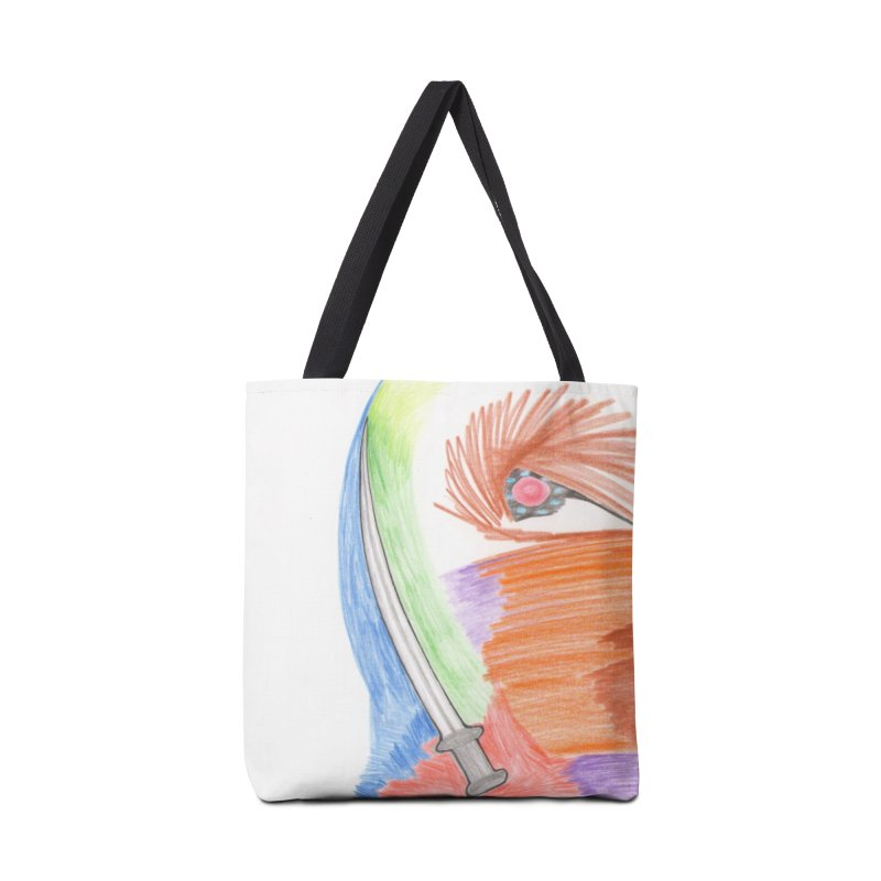 A Sword Is A Must Accessories Bag by nagybarnabas's Artist Shop