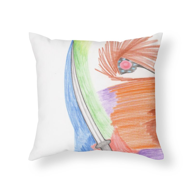 A Sword Is A Must Home Throw Pillow by nagybarnabas's Artist Shop
