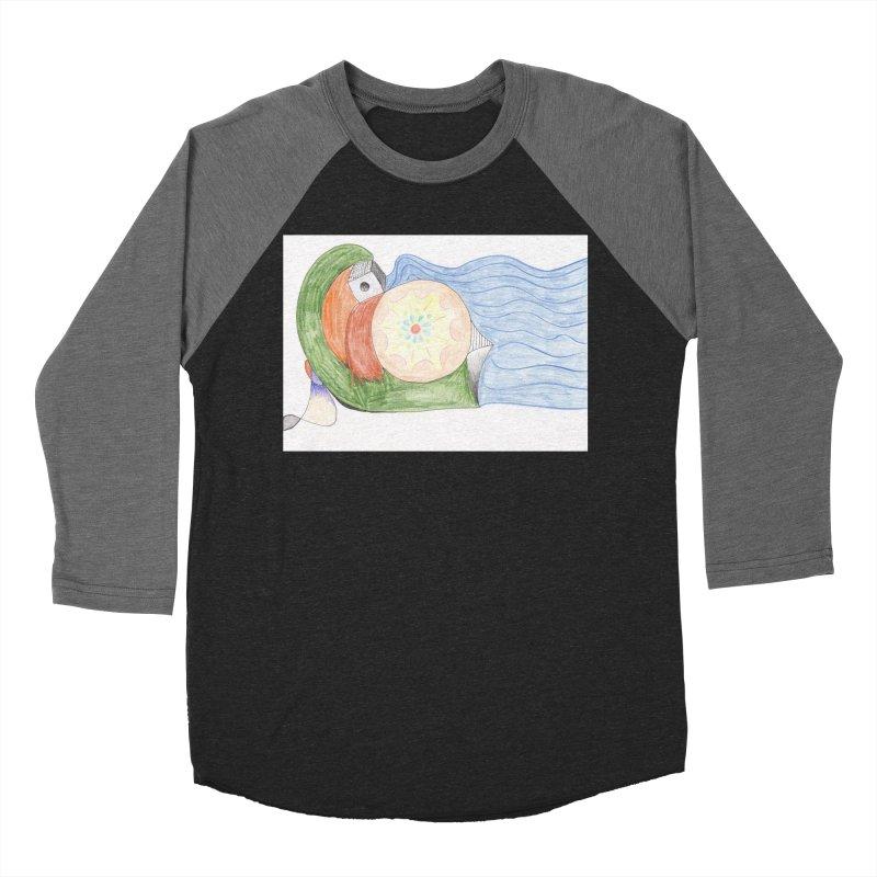 Brain Washing Machine Women's Baseball Triblend Longsleeve T-Shirt by nagybarnabas's Artist Shop