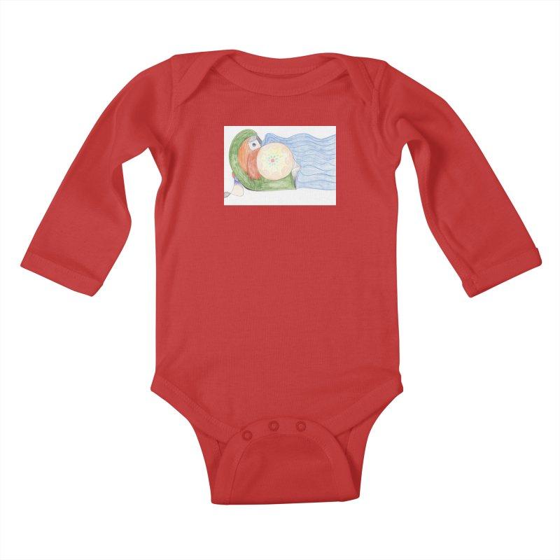 Brain Washing Machine Kids Baby Longsleeve Bodysuit by nagybarnabas's Artist Shop