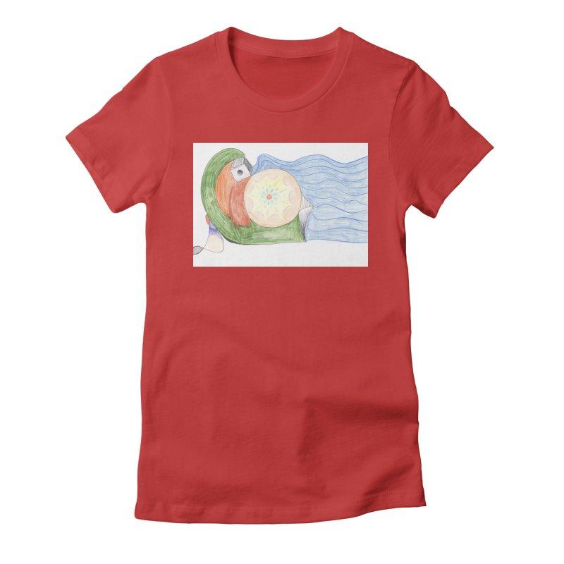 Brain Washing Machine Women's Fitted T-Shirt by nagybarnabas's Artist Shop