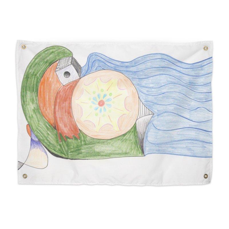 Brain Washing Machine Home Tapestry by nagybarnabas's Artist Shop